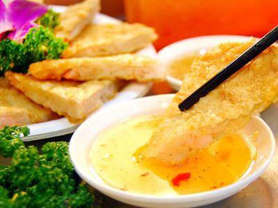 市美食 月亮虾饼